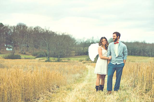 Valentine's Day-inspired Love Shoot by Jessie Holloway