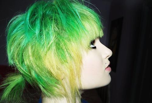hair ink. short alternative