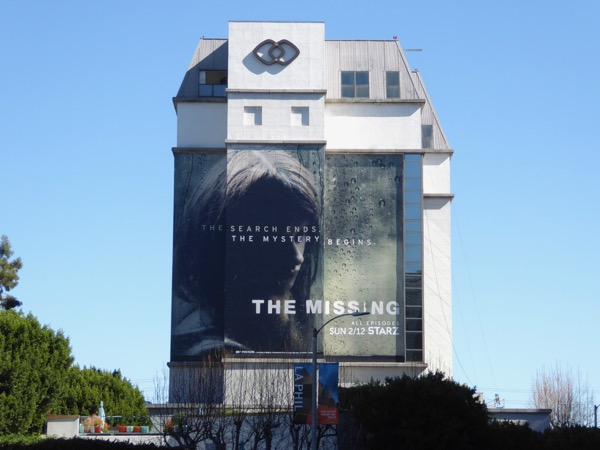 Missing season 2 giant billboard