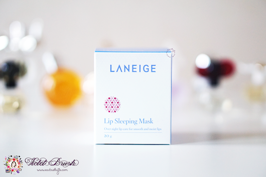 Soft and Smooth Lips with Laneige's Lip Sleeping Mask