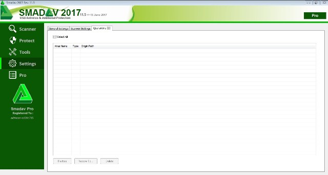 Download Smadav Pro Screenshots Full Version