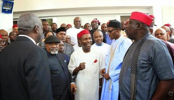 buhari igbo leaders