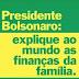 Bruna Marquezine questiona as finanças da família Bolsonaro