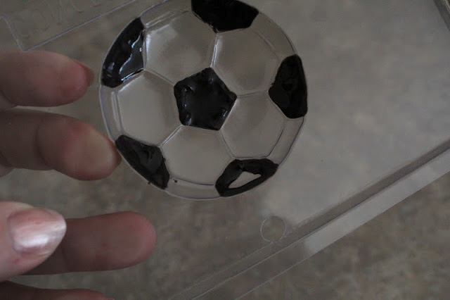 Soccer Ball Chocolate Candy Box Favor & Free Printable
