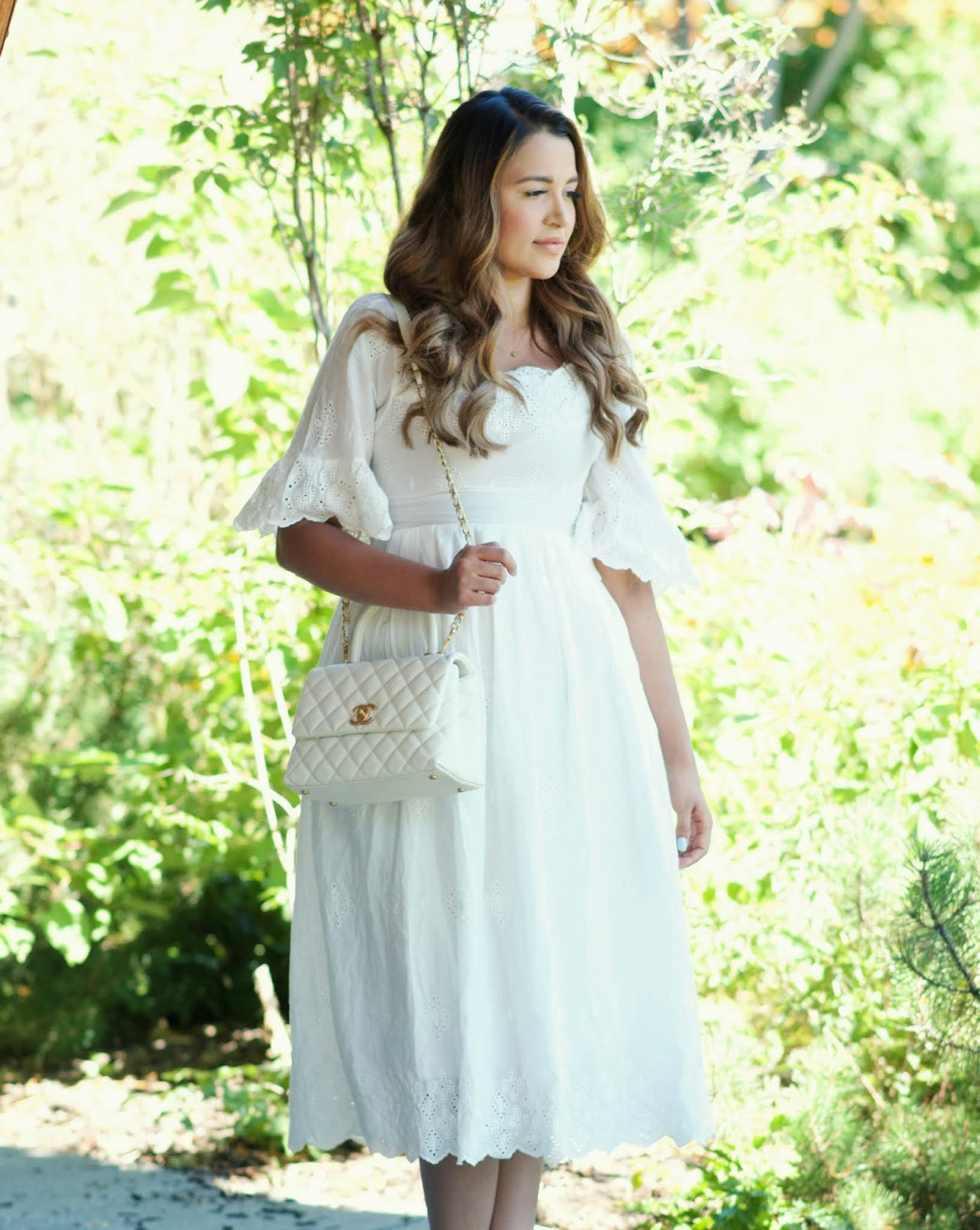 7fff4aed5884 The Prettiest White Dress | Gumboot Glam | A Vancouver Based Fashion ...
