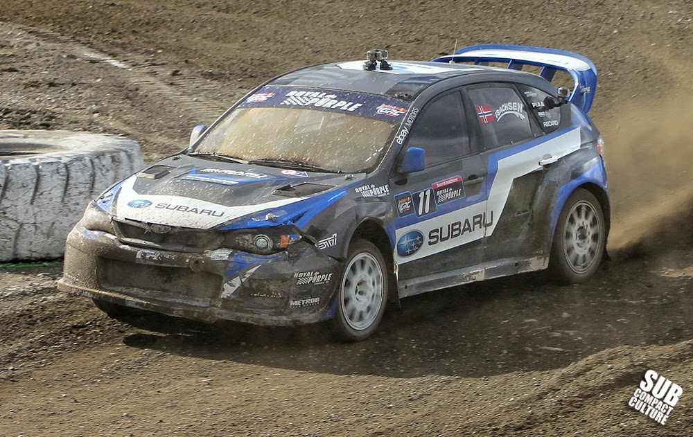 Sverre Isachsen's Subaru Impreza WRX at the Seattle GRC