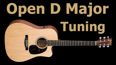 Gitar Open Tuning D