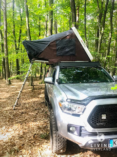 overland expo, overland journal, expedition portal, tire rack, offroad, Toyota Tacoma