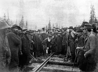 completion of trans canada railroad