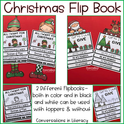 Christmas Writing Activities for students