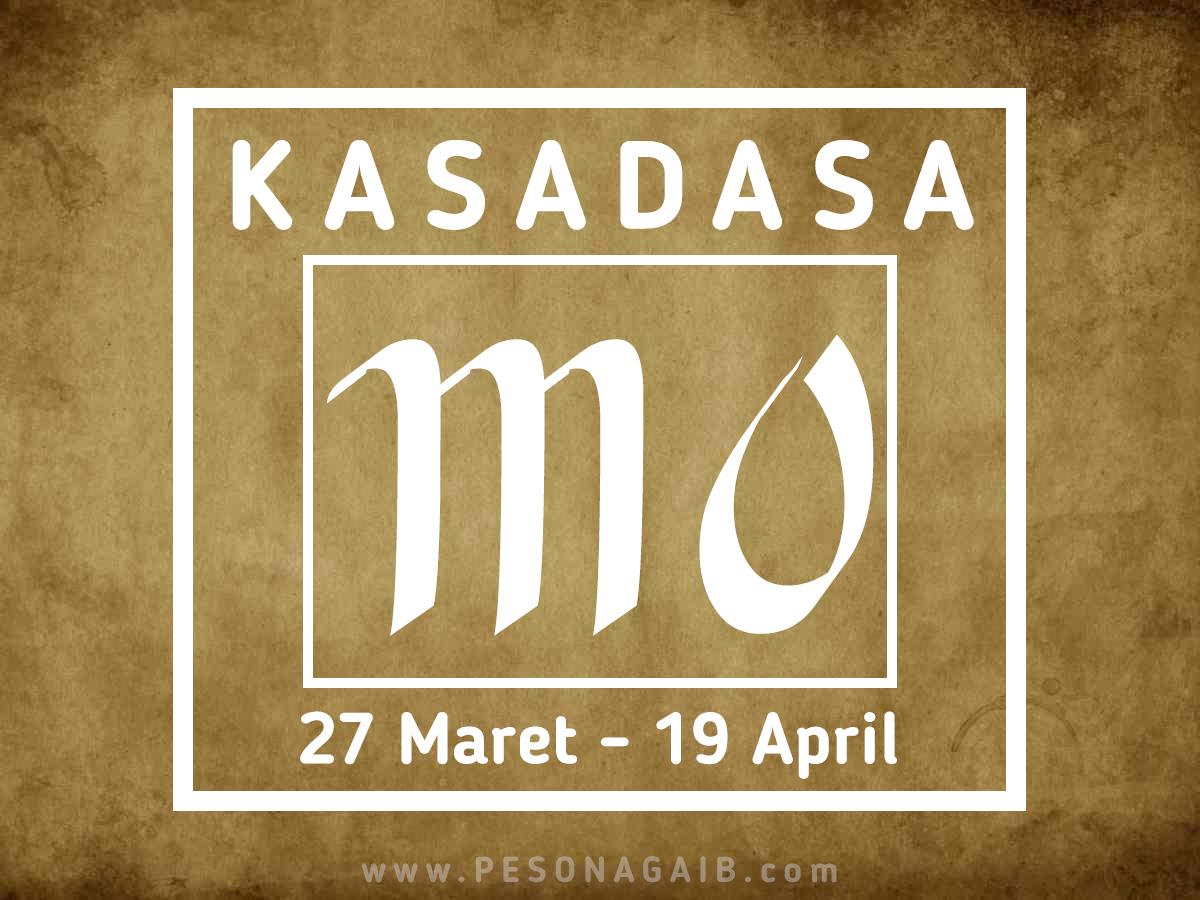 Ramalan Mangsa Kasadasa (27 Maret – 19 April)