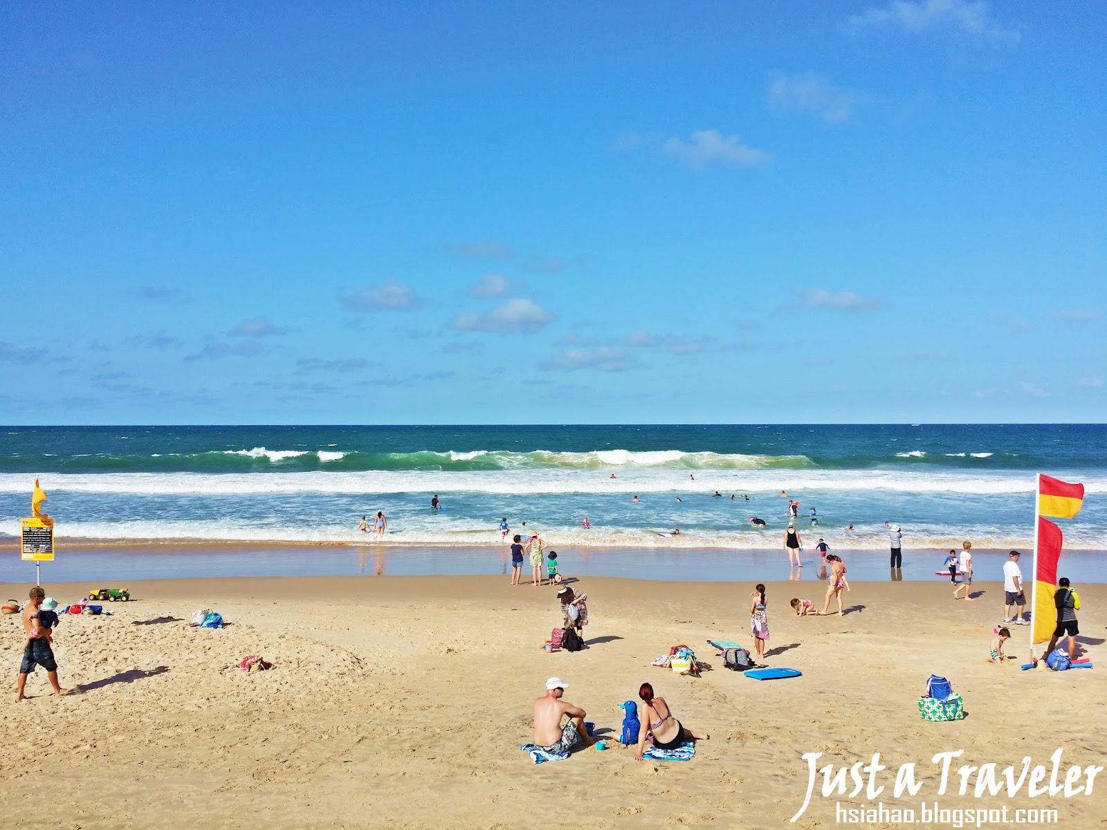 陽光海岸-海灘-一日遊-遊記-陽光海岸景點-推薦-住宿-Sunshine-Coast-Alexandra-Headland-Beach