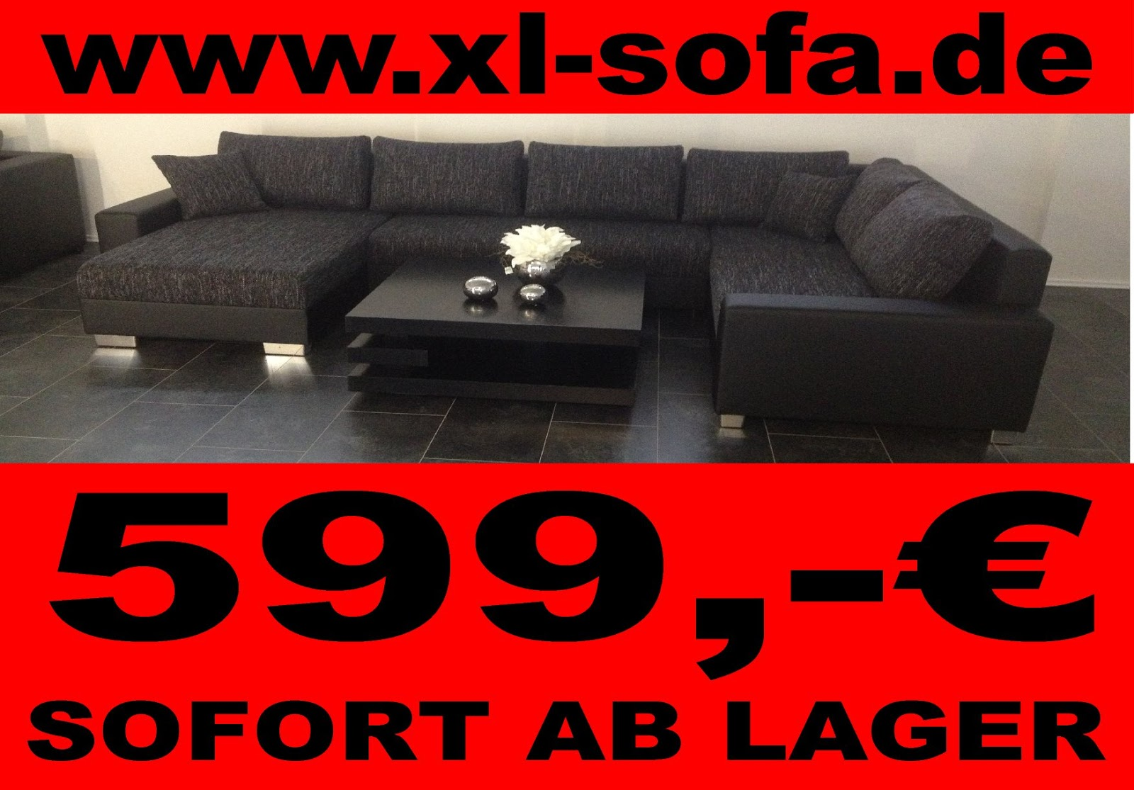 sofa lagerverkauf sofa couch sofa g nstig polsterm bel wohnlandschaft. Black Bedroom Furniture Sets. Home Design Ideas