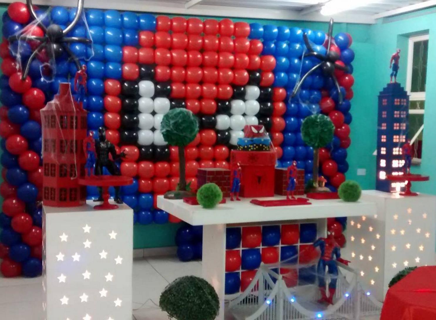 Ideas de decoraci n para tu fiesta de spiderman - Amazon decoracion pared ...