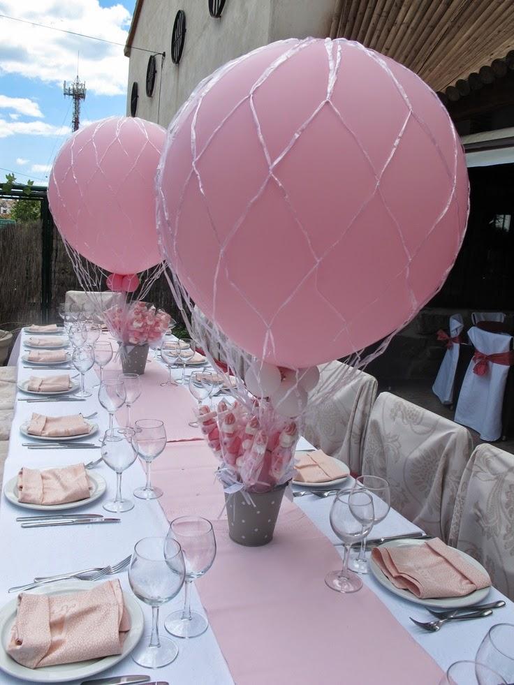 Arreglos con globos para bautizo fiestas y todo eventos - Como hacer decoraciones de bautizo ...