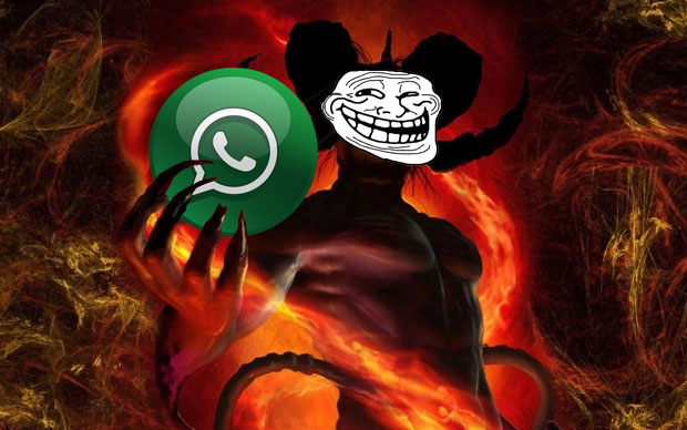 kisah para setan di grup Whatsapp