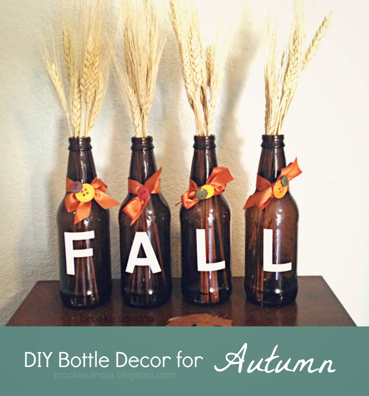 Homemade Thanksgiving Decorations For The Home: Life & DIY Inspiration: DIY Fall