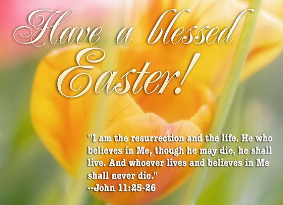 Blessed Easter Wishes