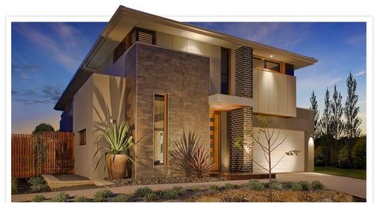 Fasad Rumah Minimalis Nan Elegan