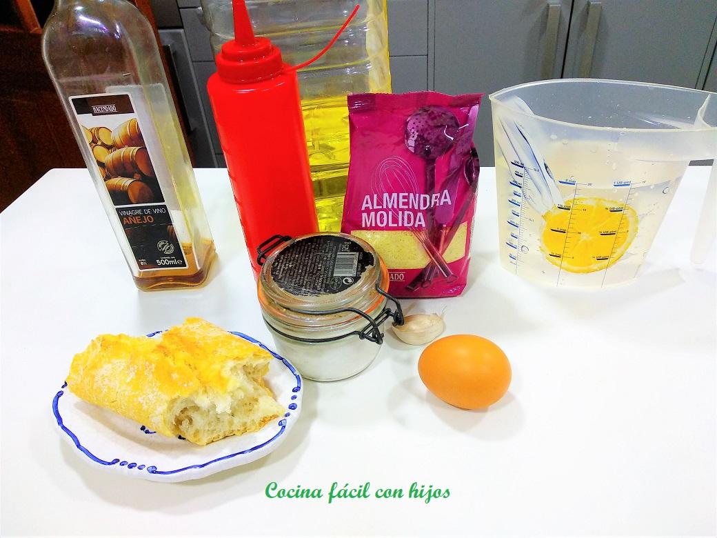 Cocina f cil con hijos mazamorra cordobesa con y sin for Cocina thermomix facil