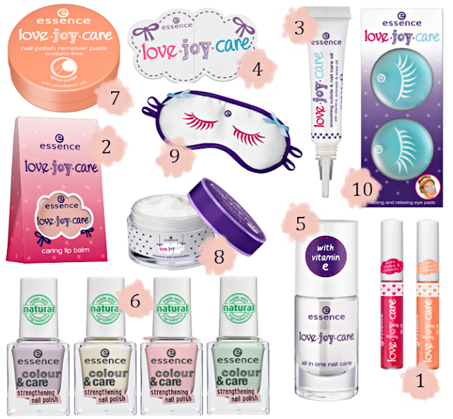 Preview essence Love.Joy.Care - limited Edition (LE) - Dezember 2015