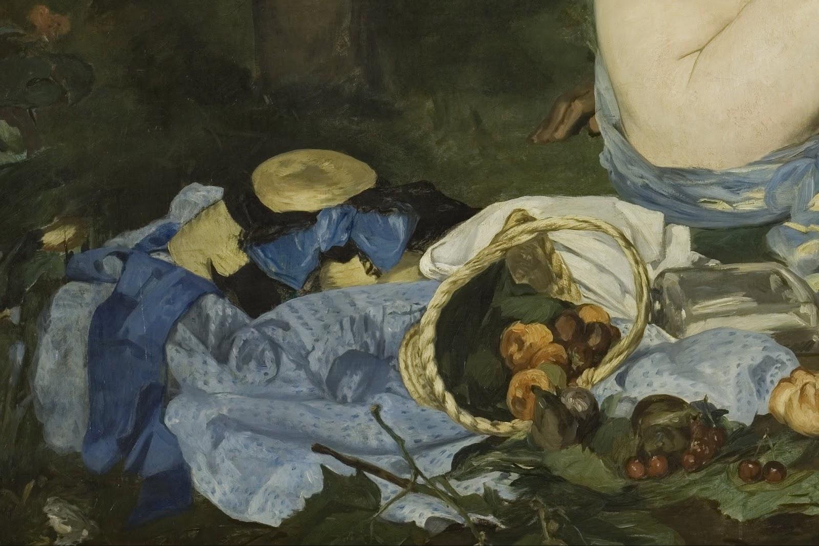 Douard manet le d jeuner sur l 39 herbe 1863 art in for Vaisselle dejeuner sur l herbe