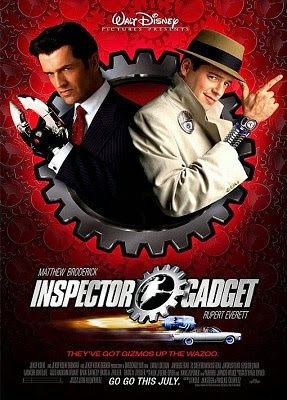Poster Of Inspector Gadget 1999 Full Movie In Hindi Dubbed Download HD 100MB English Movie For Mobiles 3gp Mp4 HEVC Watch Online