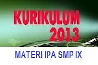 MATERI IPA SMP 2013