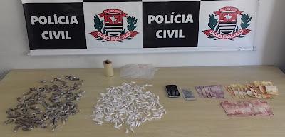 POLÍCIA CIVIL PRENDE LÍDERES DO TRÁFICO DE DROGAS NO JARDIM VALERI