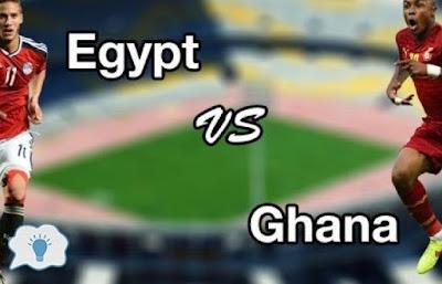 فيديو: نتيجة واهداف مباراة مصر وغانا في كاس امم افريقيا 2017 والقنوات الناقلة