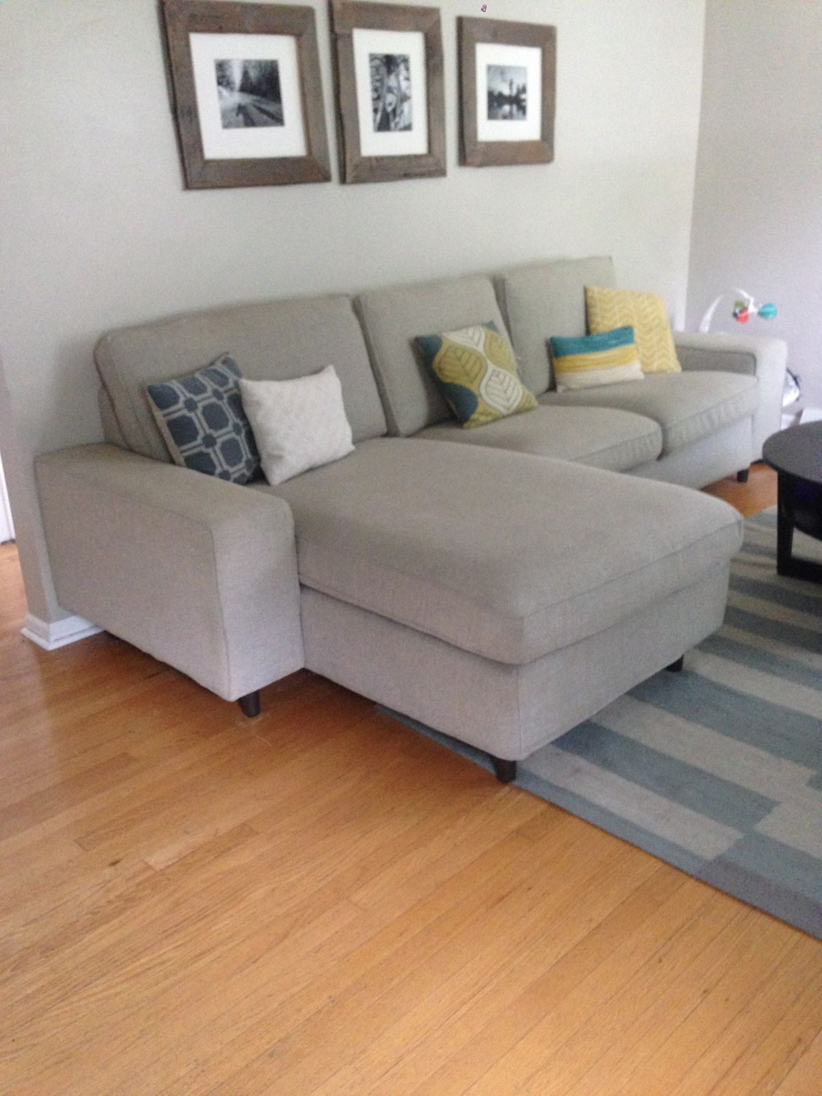 Image Result For Leather And Tweed Sofa Light Blue Sectional Sofa Sectional Sofa Design Light Blue