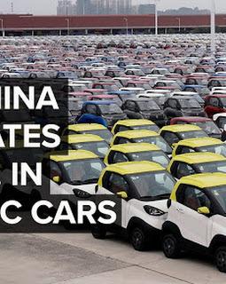 Tại sao Trung Quốc vượt xa Mỹ về sản xuất xe điện