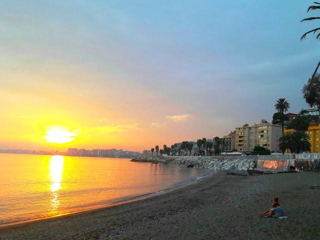 sunset-malaga-baños-del-carmen-malaga-trips