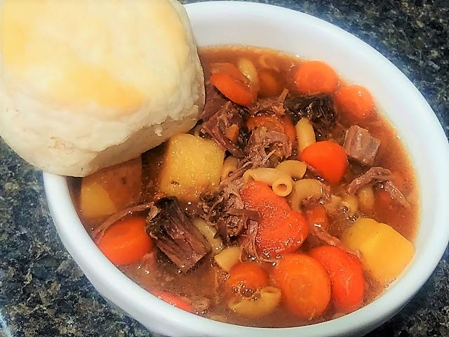 Beef and potato soup