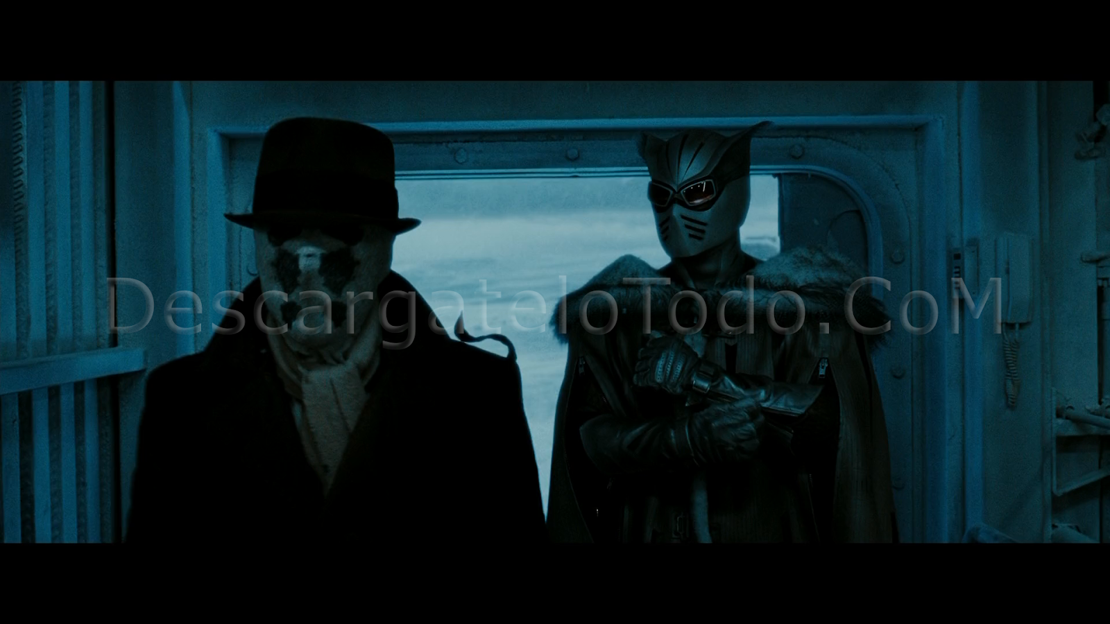 Watchmen The Ultimate Cut (2009) BRRip Full HD 1080p Latino-Castellano-Ingles captura 3