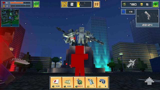 Block City Wars v5.1 Apk + Datos SD Mod [Dinero]