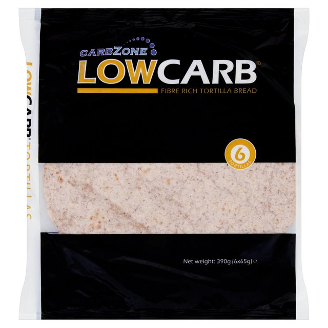 Low carb tortilla wraps