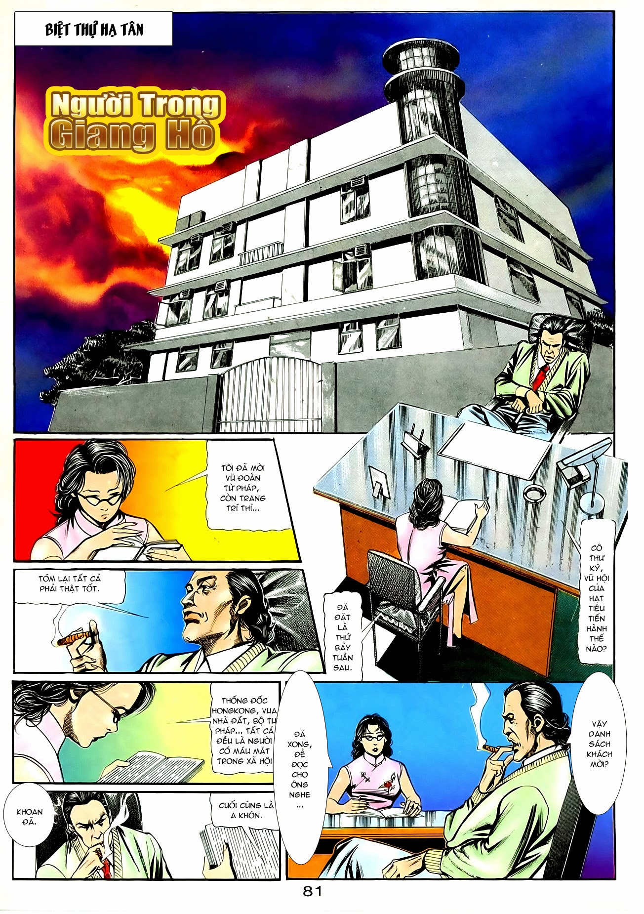 Người Trong Giang Hồ chapter 90: giang hồ hiểm trang 17