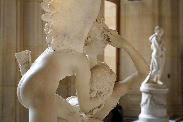 Psyché ranimée par le baiser de l'Amour