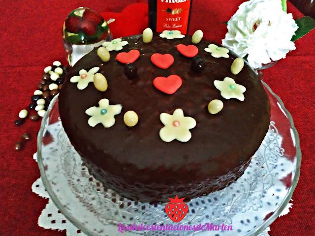 Tarta de Almendra y Chocolate ( Día de la Madre)