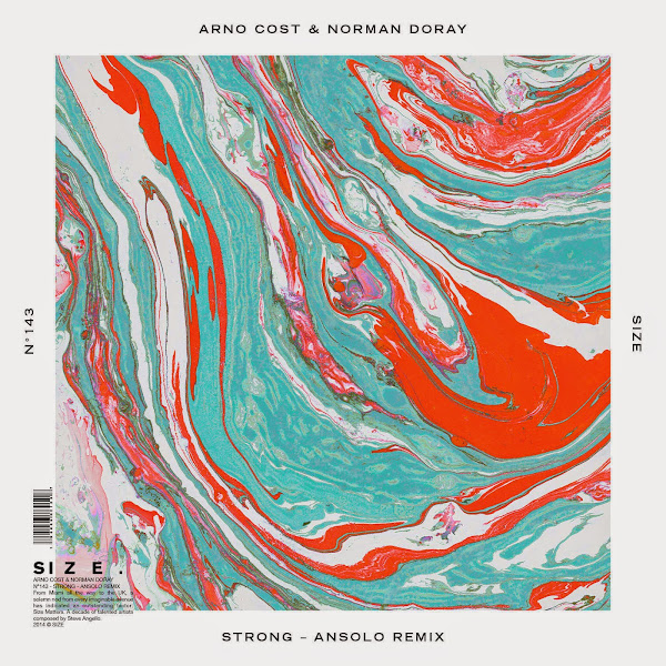 Arno Cost & Norman Doray - Strong (Ansolo Remix) - Single Cover