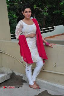 Actress Mannara Chopra Latest Pictures in White Salwar Kameez  0123.JPG