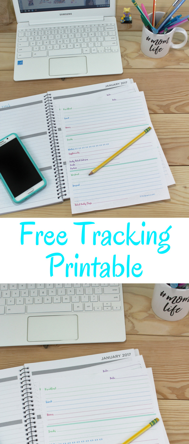 Why Tracking Works + Free Printable Journal