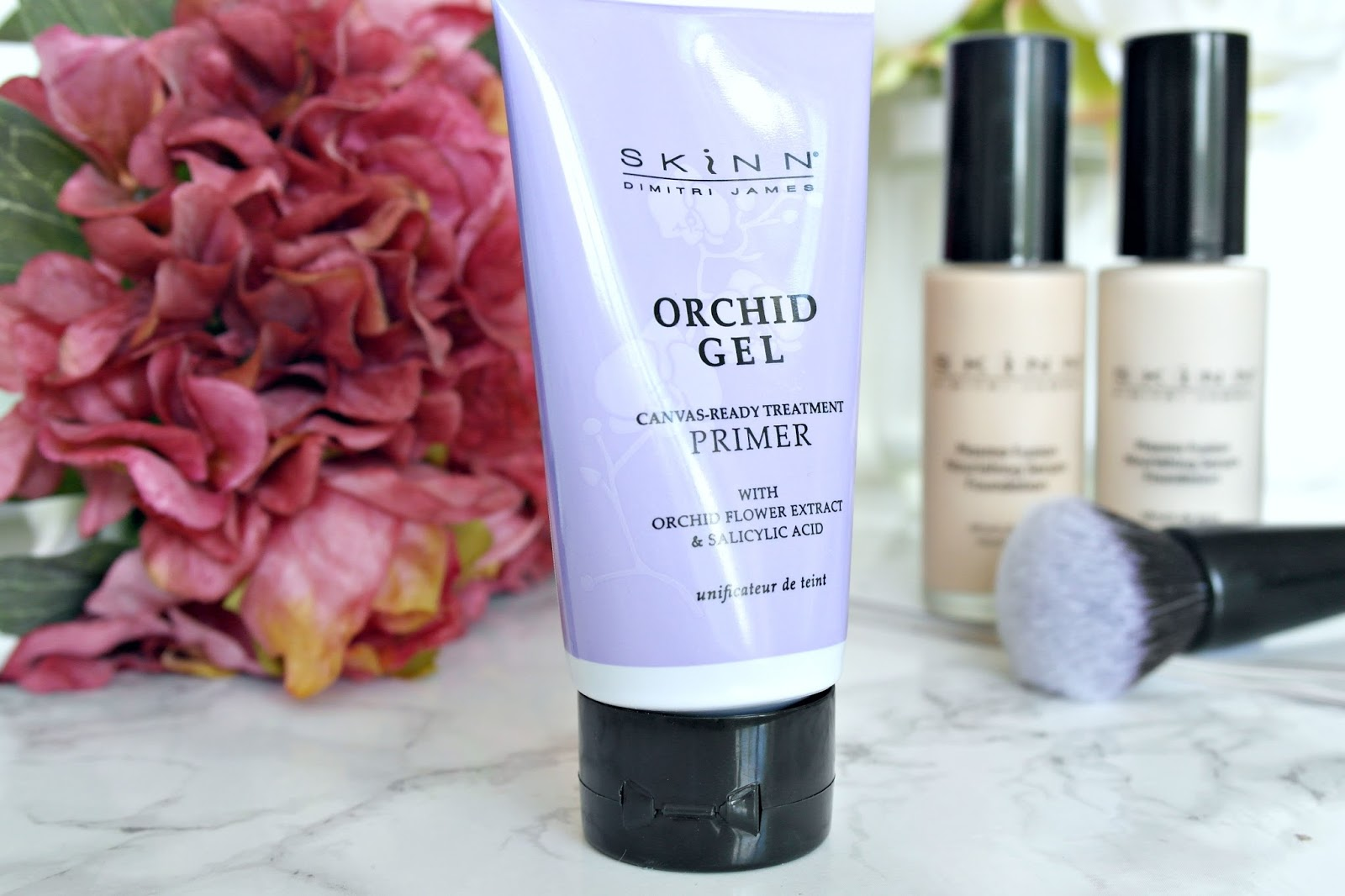Skinn Orchid gel canvas primer, review
