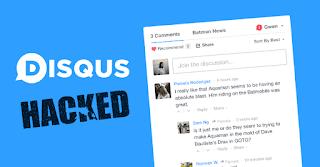اختراق نضام التعليقات Disqus و الكشف على 17.5 مليون مستخدم