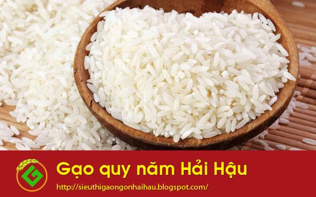 Gạo quy năm Hải Hậu: Gạo quê chan chứa tình yêu thương