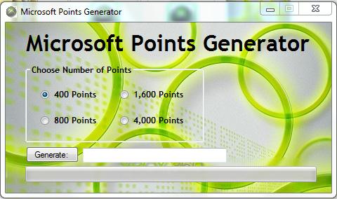 Ultimate Gaming Hacks: Microsoft Points Generator