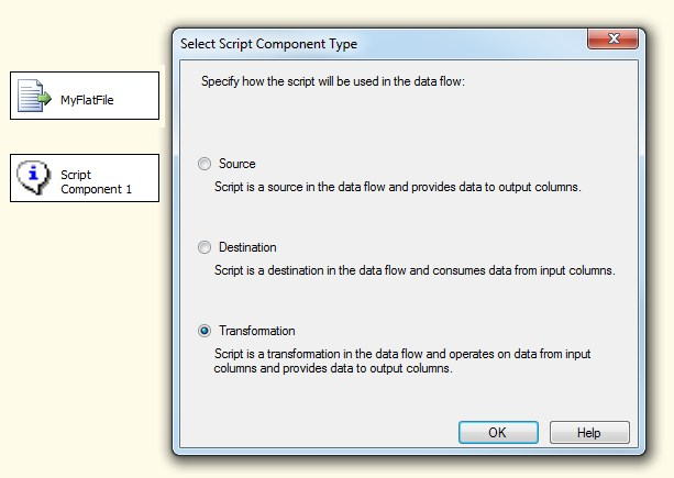 Microsoft SQL Server Integration Services: Replace multiple spaces