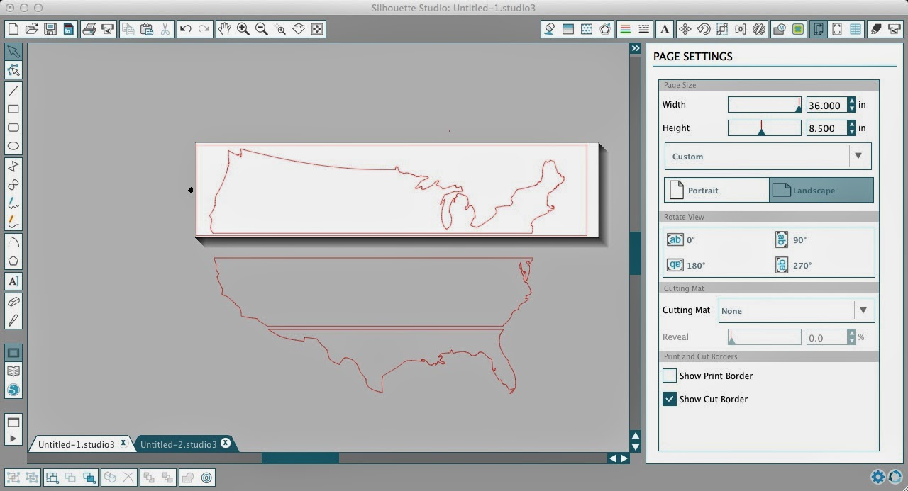 Stencils, decals, Silhouette, cutting, tricks, tips, USA
