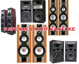 5 Speaker Aktif Terbaik untuk Karaoke
